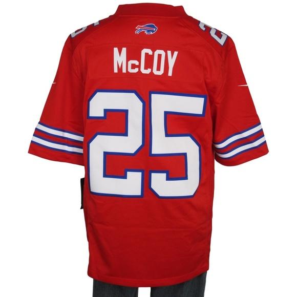 54ef558ed0f Nike Shirts | Lesean Mccoy Bills Rush Limited Jersey Large | Poshmark